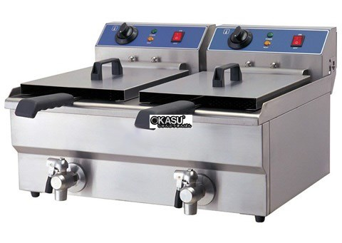 Bếp chiên điện van dầu OKASU WF-172V