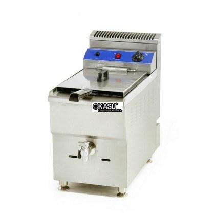 Bếp chiên Gas OKASU WGF-181
