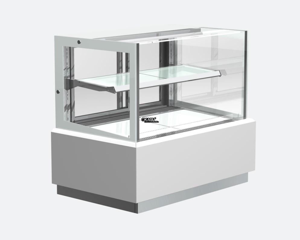 Tủ trưng bày bánh hình chữ nhật OKASU QĐ760V-M