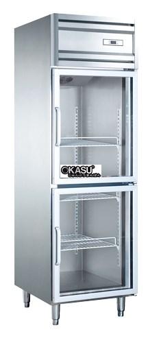 Tủ mát 2 cánh kính OKASU KG0.5L2W