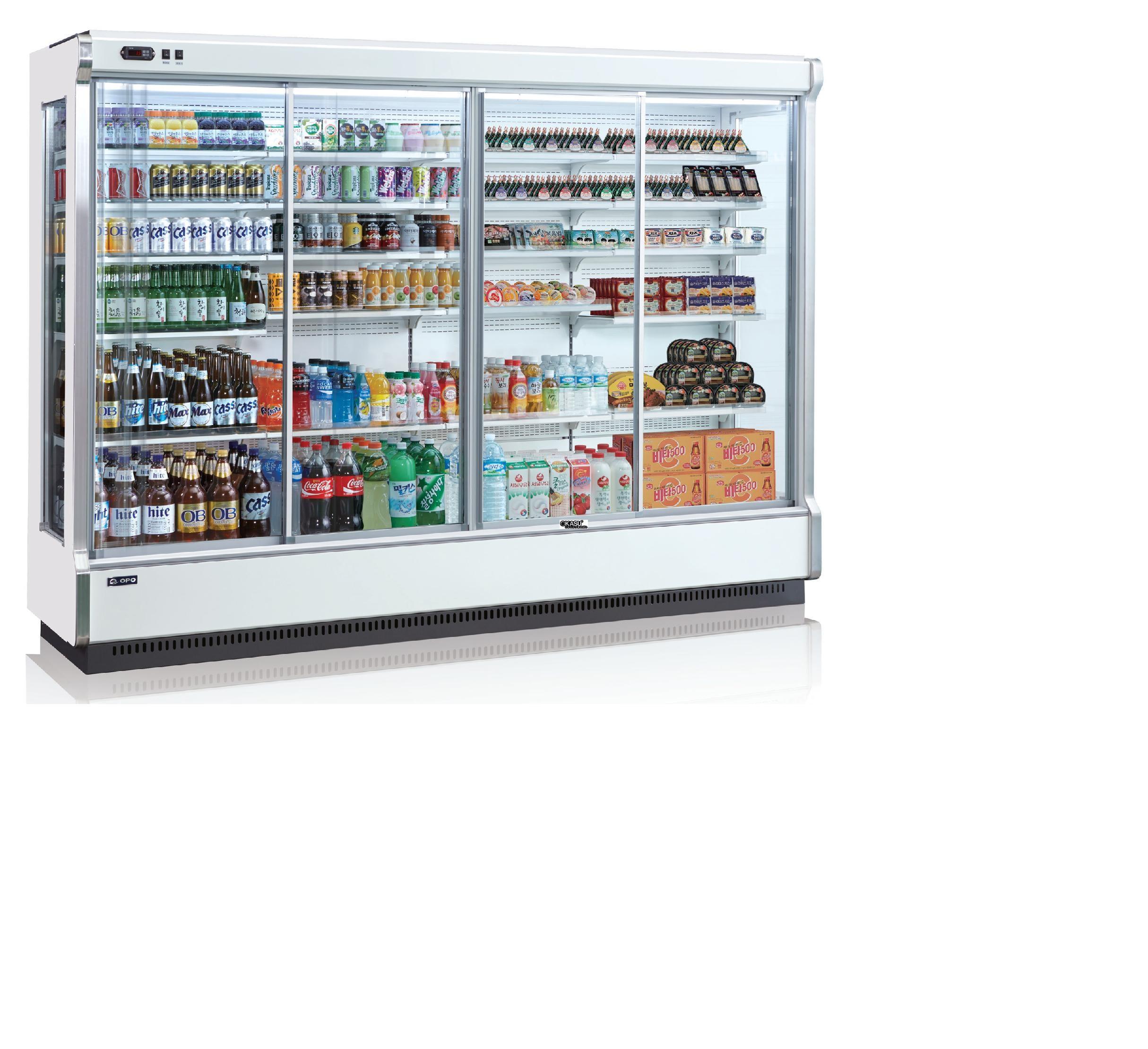 Tủ mát cửa trượt nhiều tầng OPO SMM5D2-12SPD