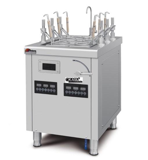 Bếp nấu mì 6 hộc tự động OKASU OKS-39S