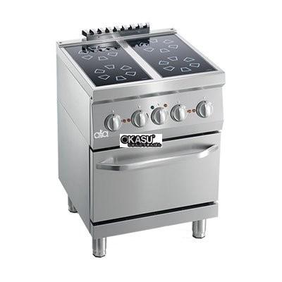 Bếp điện từ 4 họng có lò nướng ATA K6EVC10FF