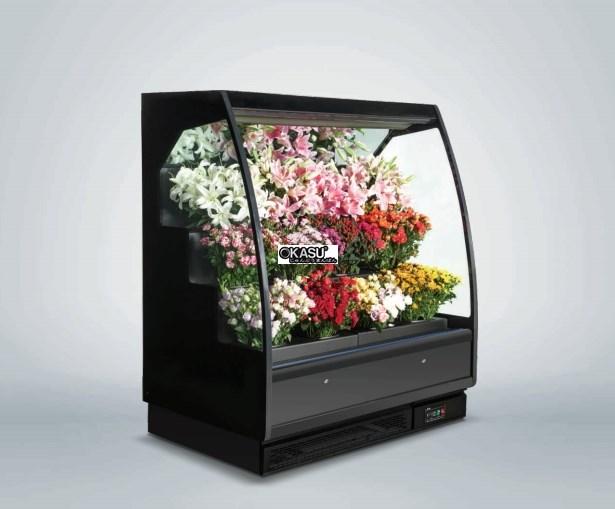 Tủ rèm trưng bày hoa tươi OKASU OKS-18AH