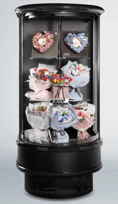 Tủ rèm trưng bày hoa tươi OKASU OKS-18YB
