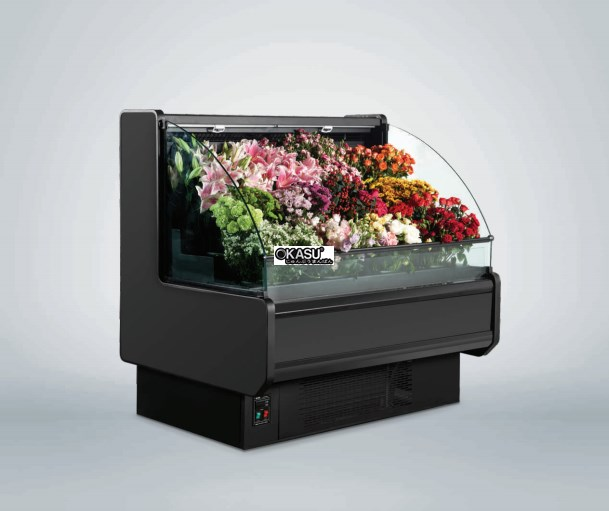 Tủ rèm trưng bày hoa tươi OKASU OKS-18AF
