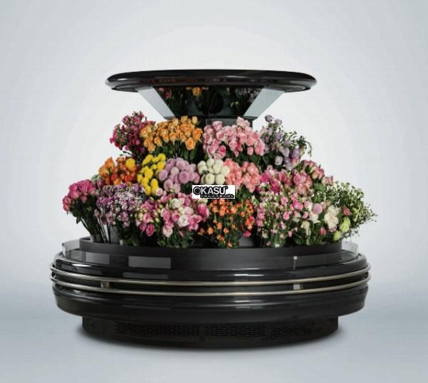 Tủ đảo tròn trưng bày hoa OKASU OKS-18YA
