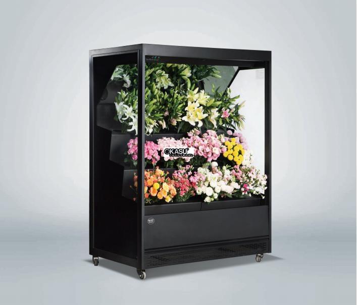 Tủ rèm trưng bày hoa tươi OKASU OKS-17YH