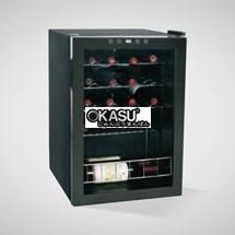 Tủ bảo quản và trưng bày rượu vang OKASU OKS-62E