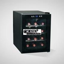Tủ bảo quản và trưng bày rượu vang OKASU OKS-33FD