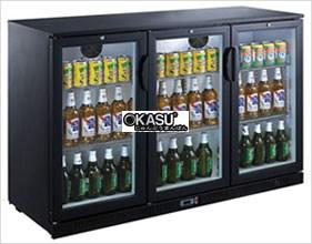 Tủ mát 3 cánh kính OKASU OKS-300T3KW