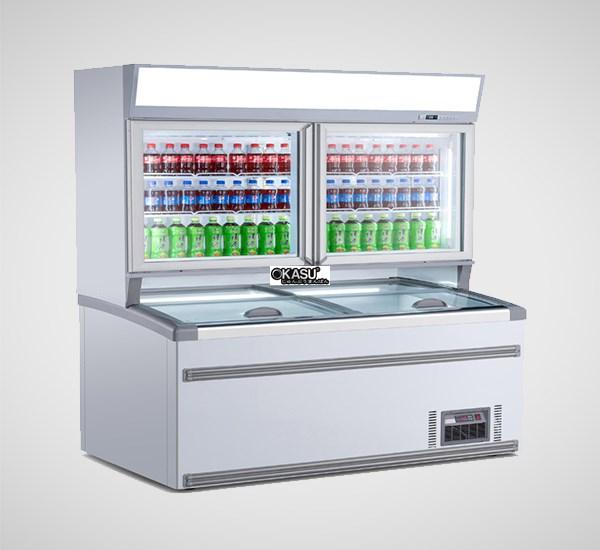 Tủ đông mát trưng bày siêu thị OKASU OKS-19ZM