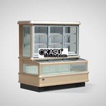 Tủ đông mát trưng bày siêu thị OKASU OKS-16SE