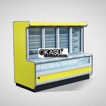 Tủ đông mát trưng bày siêu thị OKASU OKS-09SE