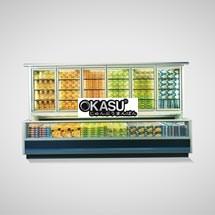 Tủ đông mát trưng bày siêu thị OKASU OKS-12ZT