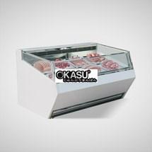 Tủ trưng bày thịt siêu thị OKASU OKS-15XA