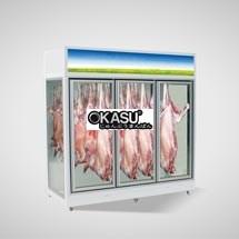 Tủ trưng bày thịt siêu thị OKASU OKS-09FE