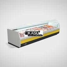 Tủ trưng bày thịt siêu thị OKASU OKS-09XRC