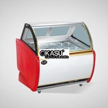 Tủ trưng bày và bảo quản kem OKASU OKS-12RFK