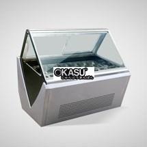 Tủ trưng bày và bảo quản kem OKASU OKS-12AX