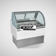 Tủ trưng bày và bảo quản kem OKASU OKS-14JN-A