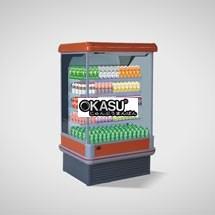 Tủ mát trưng bày đồ uống OKASU OKS-12FR