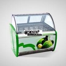 Tủ trưng bày và bảo quản kem OKASU OKS-12QL