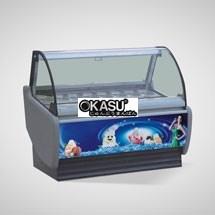 Tủ trưng bày và bảo quản kem OKASU OKS-QL-01
