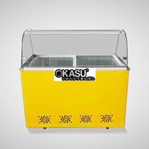 Tủ trưng bày và bảo quản kem OKASU OKS-12QJ