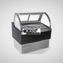 Tủ trưng bày và bảo quản kem OKASU OKS-14JN-B