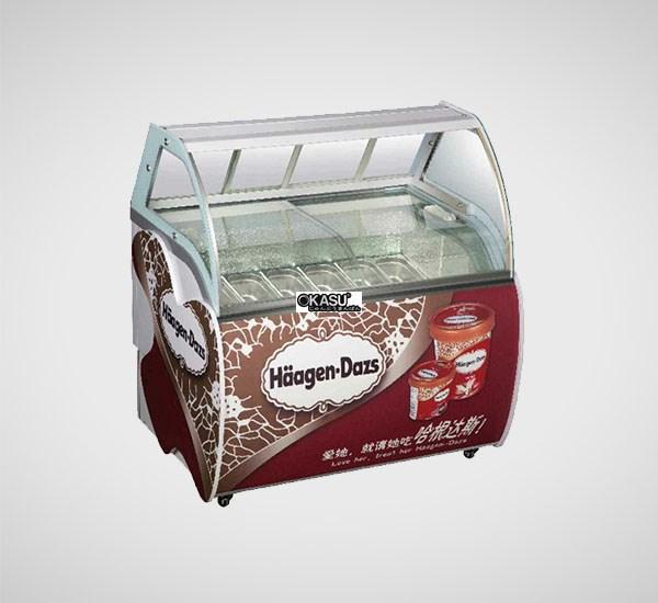 Tủ trưng bày và bảo quản kem OKASU OKS-BM