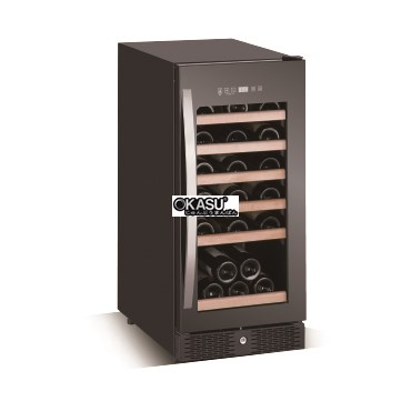 Tủ trưng bày và bảo quản rượu vang OKASU WLW-28SZ