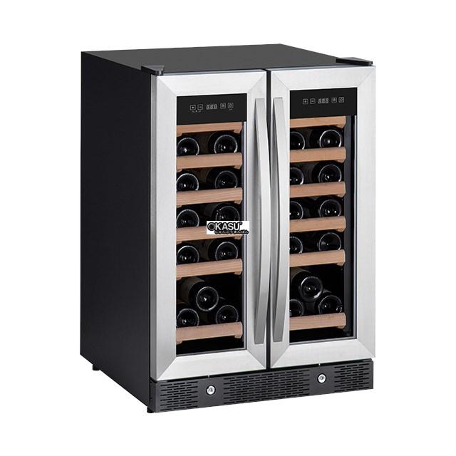 Tủ trưng bày và bảo quản rượu vang OKASU WLW-42DZ