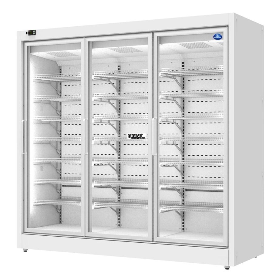 Tủ đông trưng bày siêu thị Sanden  SLC-2003