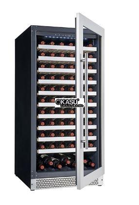 Tủ bảo quản rượu vang OKASU OKS-VI120S