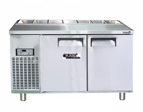 Bàn Salad 1500 2 cánh HAPPYS OKSI-1500S-F
