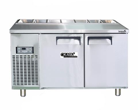 Bàn Salad 1500 2 cánh HAPPYS OKSI-1500S-H