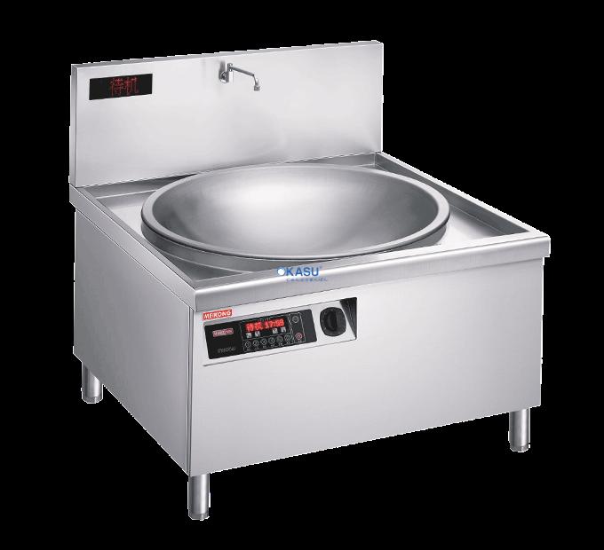 Bếp từ đơn lõm chảo xào trực tiếp OKASU EMB-11N-20