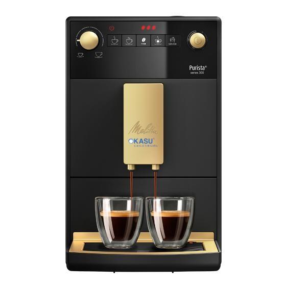 Máy pha cà phê Melitta Purista đen