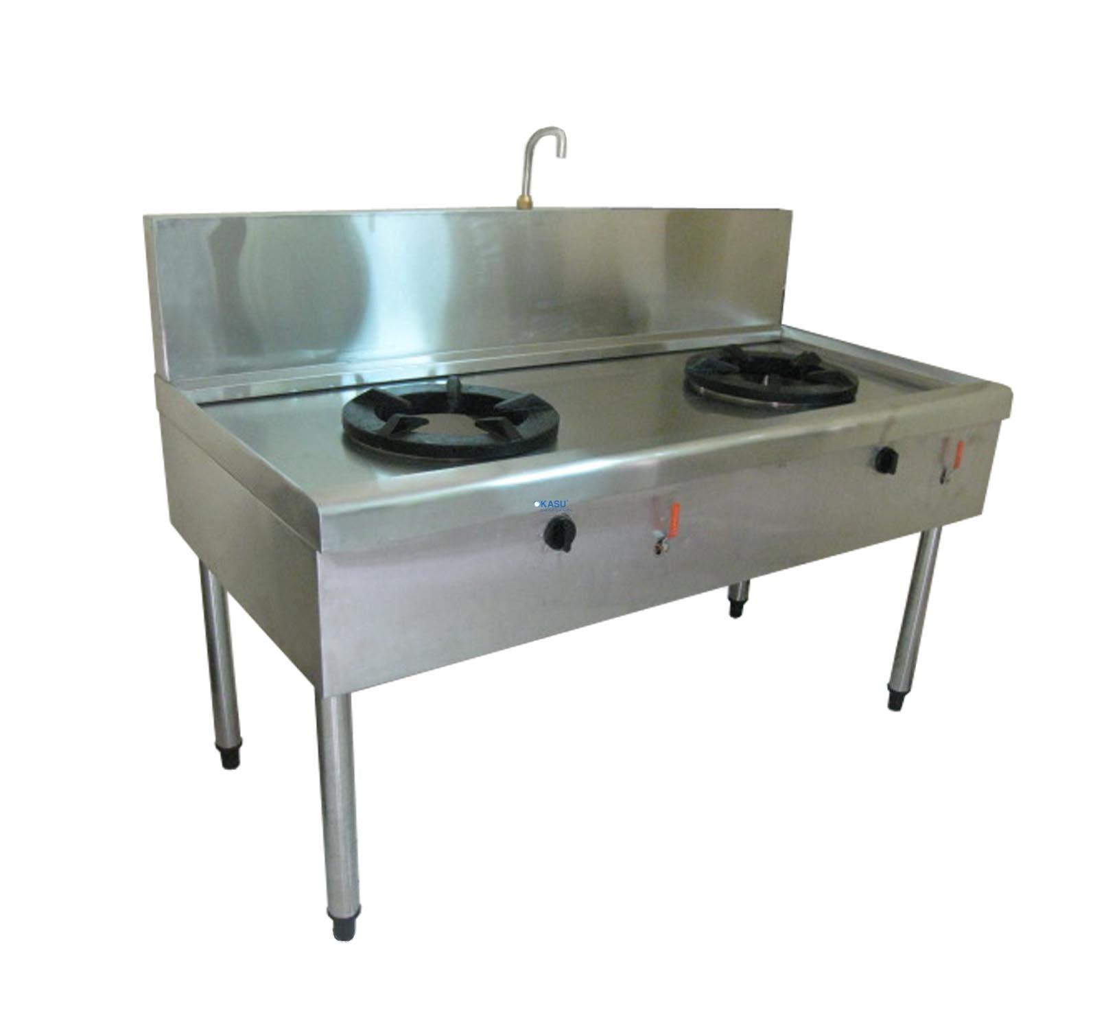 Bếp Á Gar 2 họng OKASU KS-BAHX2
