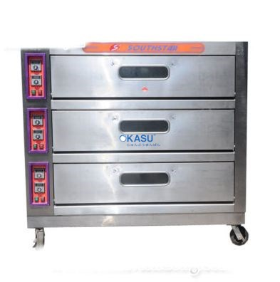 Lò nướng bánh ngọt dùng điện 3 tầng 9 khay KS-YXD-90C
