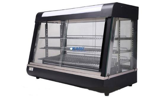 Tủ giữ nóng thức ăn kính phẳng KS-TGN60-3