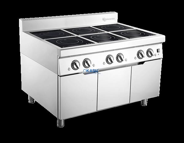 Bếp từ sáu họng OKASU ZT6-C9021A