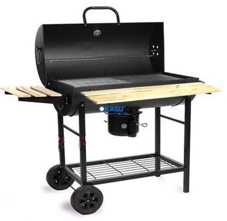Bếp nướng đen có moto xoay BBQ-05