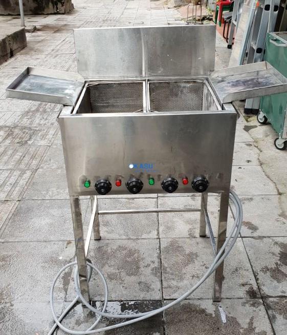 Bếp chiên 50 Lít 2 ngăn