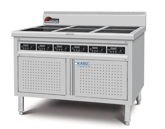 Bếp nấu điện từ 6 mắt (dạng tủ) CZC-34E