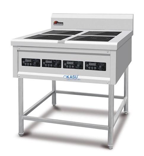 Bếp nấu điện từ 4 mắt CZC - 18A