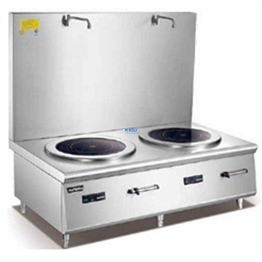 Bếp hầm thấp đôi điện từ Kainox EISP2B-WB