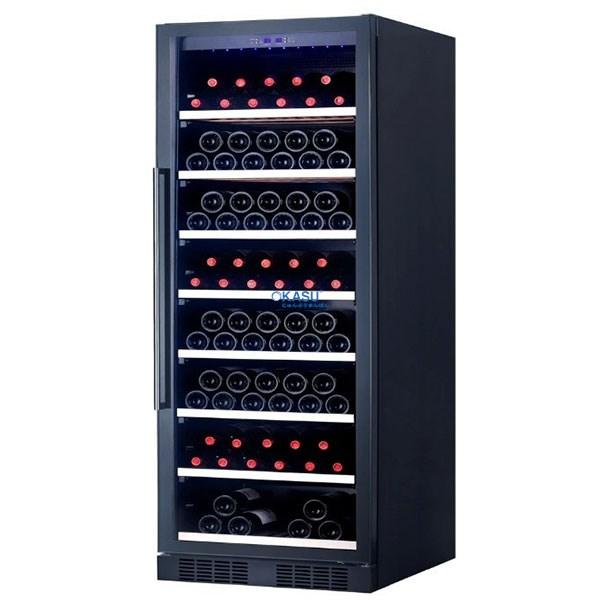Tủ rượu vang Grubel GWC-ST166BK