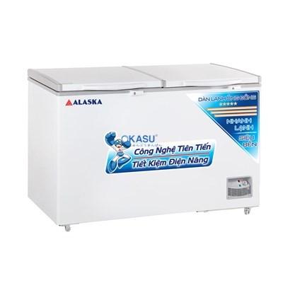 Tủ đông 2 cửa nắp đỡ Alaska HB-550C